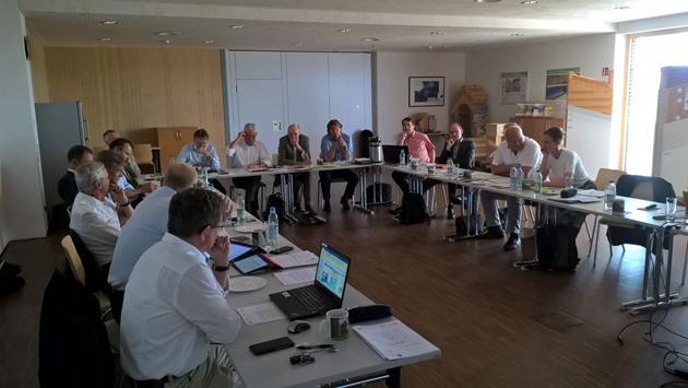 Strategie-Sitzung des Clusterbeirats 2019 in Feldkirchen