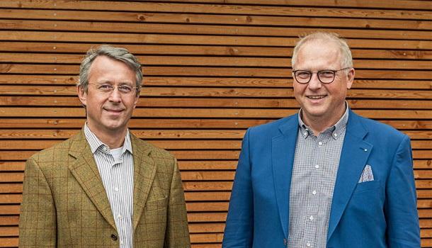 Neues Clustersprecher-Duo schaut in eine laubholzreiche Zukunft