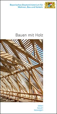 Flyer Bauen mit Holz Schreyer Kaniber