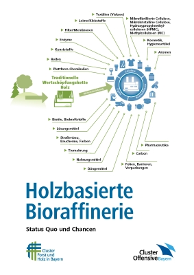 Neue Broschüre: Holzbasierte Bioraffinerie