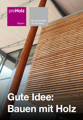 Gute Idee: Bauen mit Holz