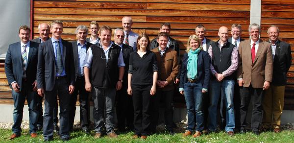 Anfang Mai startete der Laubholz-Innovationsverbund mit einer Auftaktveranstaltung, die den teilnehmenden Unternehmen und Forschungseinrichtungen Gelegenheit zu einem ersten Austausch bot. (Foto: E. Kaube)