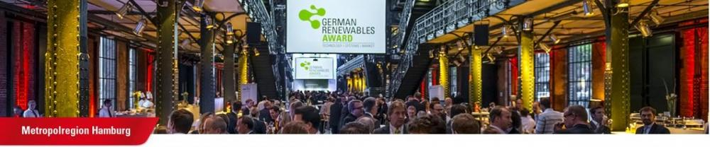 German Renewables Award - 28. November 2019 Cluster Erneuerbare Energien Hamburg