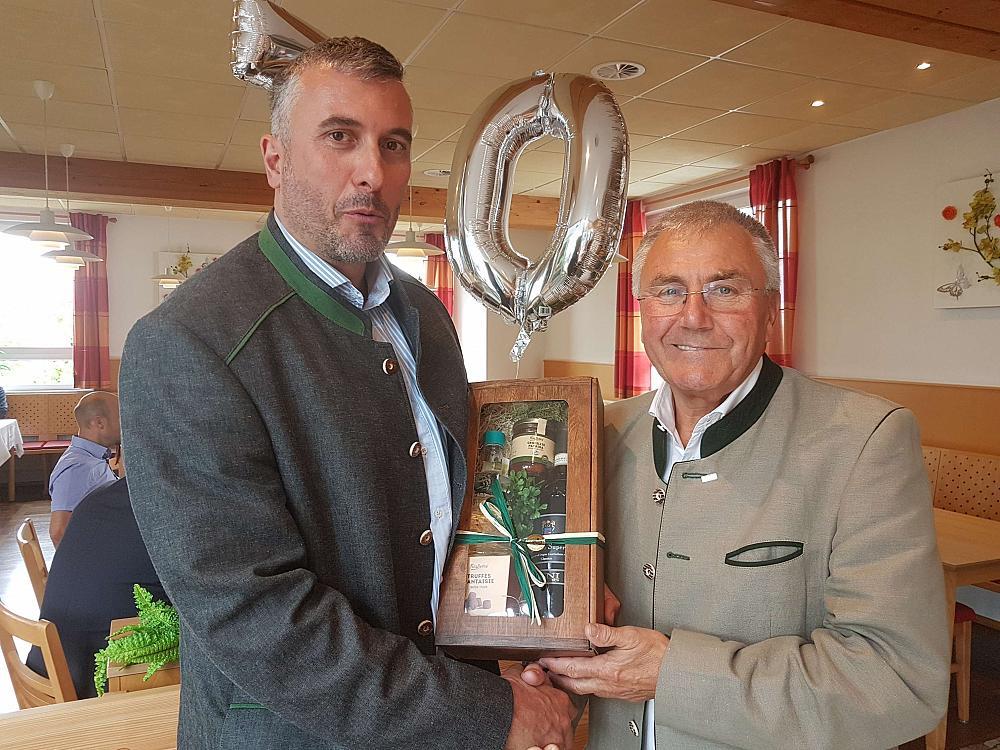 Xaver Haas wird 70