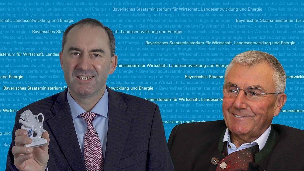 Xaver Haas aus Amt des Clustersprechers von StM Aiwanger verabschiedet
